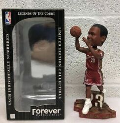 Htf Lebron James Rookie 2003 Red Shooting Cavs Bobblehead Legend Of Court