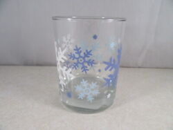 Nwt Replacement Libbey Christmas Snowflake Tumbler Rocks Glass Clearly Winter