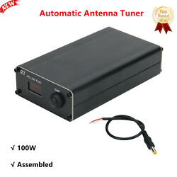 Upgraded 100w Shortwave Automatic Antenna Tuner W/ Shell Assembled Atu-100 Plus