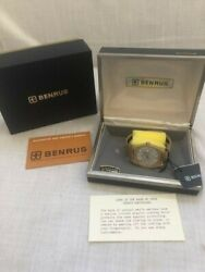 Vintage Benrus Mens Watch Automatic Old/new Stock