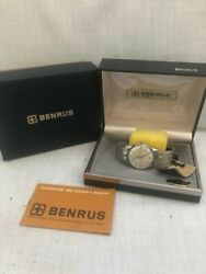 Vintage Benrus Automatic Mens Watch New/old Stock