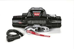 89306 Warn Zeon 10-s 10000 Lbs Self-recovery Electric Winch With Synthetic Rope