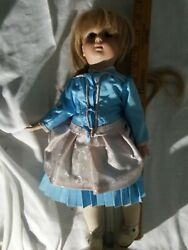 14 inch #137 reproduction antique doll