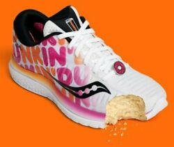 Dunkin' Donuts Men's Size 11.5 Saucony Shoes, 417.00 Obo, Receipts Always.
