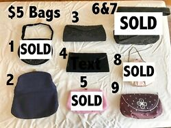 Vintage Evening Bags Wallets Coin Purses 1950#x27;s 1960#x27;s see all pictures $10.00