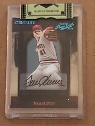 2008 Playoff Prime Cuts One Of One Tom Seaver Uncirculated Auto 1/1 Autograph