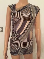 Top Blu Royal Italy Caprice Size S Brown Color / Grey