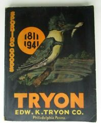 Edw. K. Tryon Company 1941 Sporting Goods And Hardware Catalog No. 103