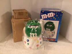 """New Vtg Benjamin Medwin 2001 M Andm Candy """"i Melt For No One"""" Cookie Jar Box"""