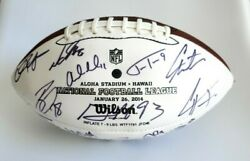 2014 Hawaii Pro Bowl Official Nfl Wilson The Duke Football - Signed Autograph