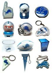 Detroit Lions Nfl Football Mini Gumball Vending Novelty Collectible You Pick