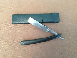 Wade And Butcher Sheffield England Straight Razor In Box