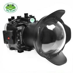 Seafrogs 40m/130ft Underwater Camera Housing With 6 Dome Port For Sony A7r Iv