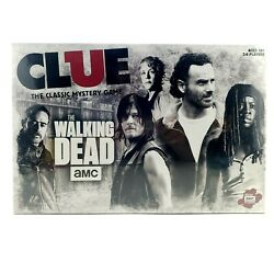 The Walking Dead Clue Board Game Usaopoly Amc