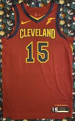 Authentic Nike Nba Game Issued Cleveland Cavaliers Sam Dekker Basketball Jersey