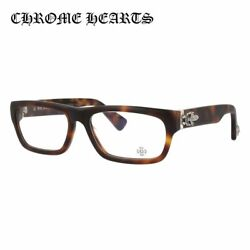 Chrome Hearts Glasses Frame Inflatable Date-a Mbst 56 Tortoiseshell Pattern