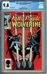 Kitty Pryde And Wolverine 5 Cgc 9.8 Wp Rare New Non-circulated Case Marvel 1985