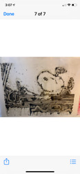 Tom Everhart Maxi Taxi Sn Unframed Signed And Numbered With Free Ship