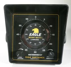 Lowrance Eagle Silent Sixty One Portable Weatherproof Depth Fish Finder