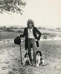 1978 Roger Daltrey The Who Large Photo By Terry O'neill