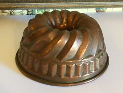 Decorative Antique French Copper Mold Found Chateau In France