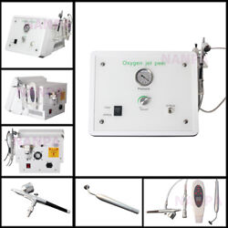 4 In 1 Microdermabrasion Oxygen Spray Facial Injection Skin Scrubber Spa Machine