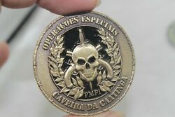 Brazil Special Police Operations Battalion Bope Challenge Coin