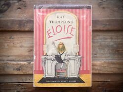Eloise Signed By Kay Thompson Vintage 1955 5th Printing Hc/dj Book Autograph