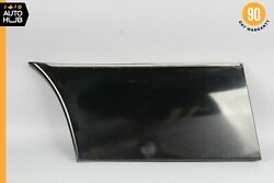 93-99 Mercedes W140 Cl500 S500 Coupe Rear Right Lower Fender Molding Trim Black