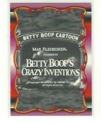 1995 Krome Productions Betty Boop Singles And039s 1-100 And Chrome Inserts