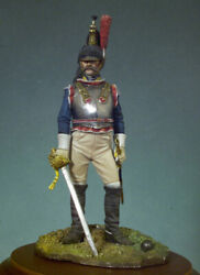 French Army Officer Of Cuirassiers Painted Toy Figure Miniature Pre-sale   Art