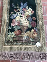 NEW Hallmark Authenticated European WALL HANGING LARGE TAPESTRY WALL ART