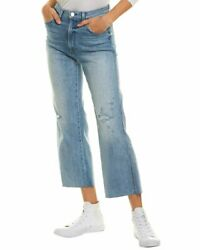 Joeand039s Womenand039s Jeans Michaela Blue Sizes 25 And 27 Wide Leg High-rise Crop 218 Nwt