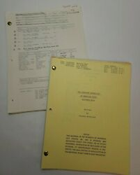 The Gangster Chronicles / Stephen Mcpherson 1981 Tv Script Eleventh Hour