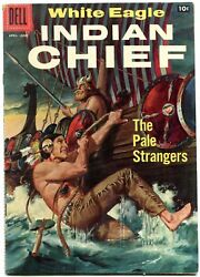 Indian Chief 26 1957 - Dell -vg/fn - Comic Book