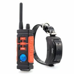Electric Dog Training Collar Rechargeable Waterproof Vibration Shock Static Beep