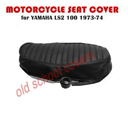 Motorcycle Seat Cover Fits Ls 2 Ls2 100 1973-1974 Yamaha Inc Seat Strap