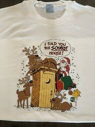 Vintage - Christmas Specials - I Told You The Schmidt House - T-shirt White Xl