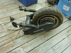 Motor Wheel Swing Arm Genze Mahindra Electric Scooter As Is Gg6