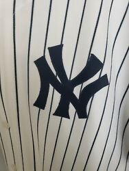 Alex Rodriguez Authentic Yankees Home Jersey Pinstripes Size 56 Russell Athletic