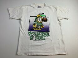 Vintage 90s Mother Goose And Grimm Grimmy Shirt Mens Comic Medium Flaw-stained