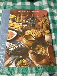American Country Country Cooking By Time - Life Books Hard Cover 1990