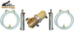 New 1982-1986 Lebaron Convertible Top Hydraulic Kit - Pump Hoses Cylinders