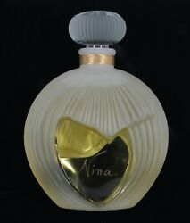 Very Rare Nina Ricci Giant Factice Display Perfume Bottle Designed By Lalique