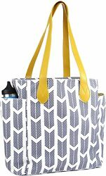 Work Tote Arrow Print Teacher#x27;s Tote School Tote Multi Purpose Tote Bag $24.99