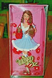 Rare 2010 The Wizard Of Oz-miss Dorothy Gale-barbie Doll-new In Box-damaged Box