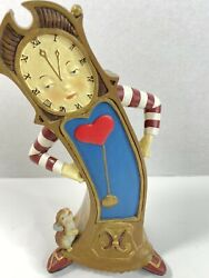 Hickory Dickory Dock Musical Wind-up Grandfather Clock House Of Lloyd 10 Tall