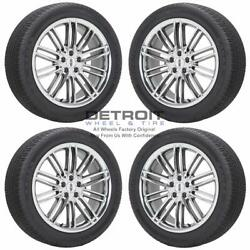 20 Lincoln Mkt Pvd Bright Chrome Wheels Rims And Tires Oem Set 4 2013-2019 3937