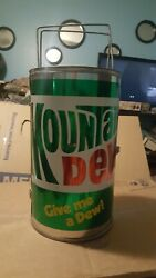 Vintage Mountain Dew Big Can-do Barbeque Grill Smoker Never Used