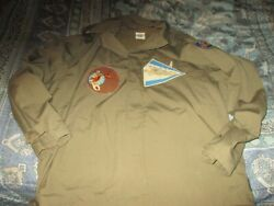 Wwii 14 Th Aaf Flying Tiger Flight / M-41 Field Jacket Five Patch Size 48 R